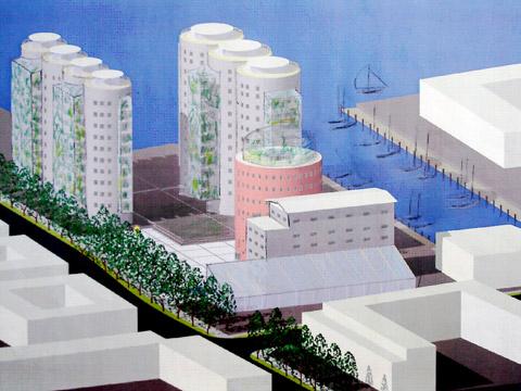 Designförslag: Hans Olsson och Olov Tyrstrup